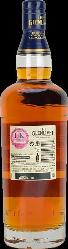Personalised Glenlivet 18 Year Old Whisky 70cl engraved bottle
