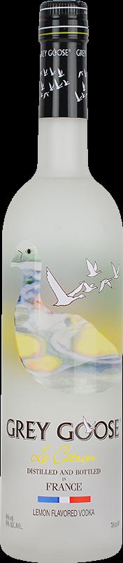 Personalised Grey Goose Le Citron Vodka 70cl engraved bottle