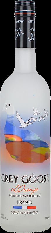 Personalised Grey Goose L'Orange 70cl engraved bottle