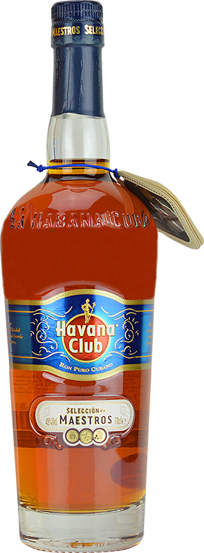 Personalised Havana Club Seleccion de Maestros Rum 70cl engraved bottle