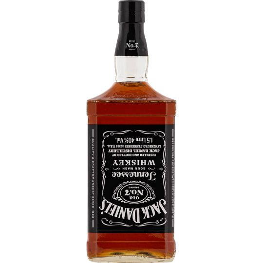 Personalised Jack Daniels No7 Magnum 150cl Engraved Whiskey engraved bottle