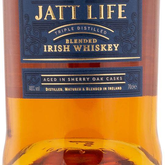 Personalised Jatt Life Blended Irish Whiskey 70cl Engraved Blended Whisky engraved bottle