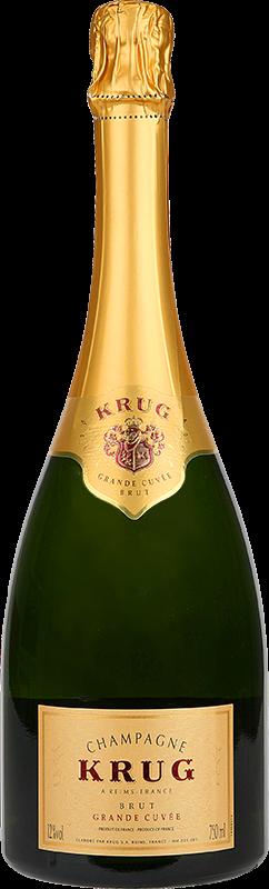 Personalised Krug Grand Cuvee Champagne 75cl engraved bottle