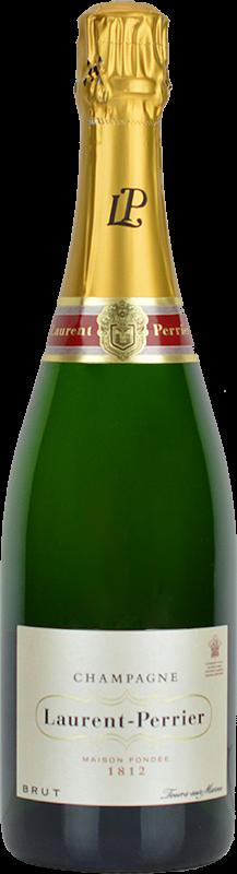 Personalised Laurent Perrier Brut Champagne 75cl engraved bottle