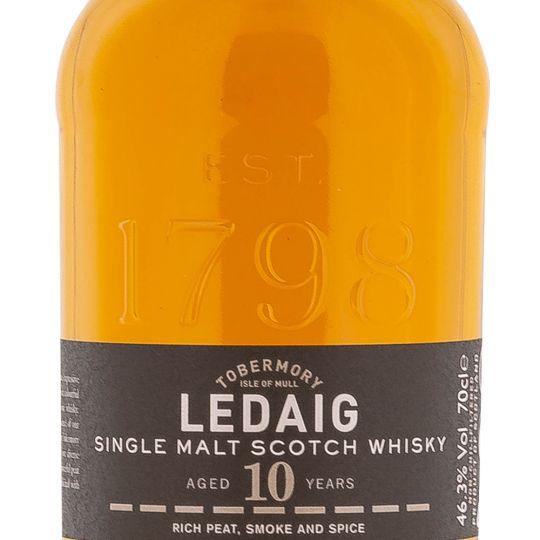 Personalised Ledaig 10 Year Old 70cl Engraved Single Malt Whisky engraved bottle