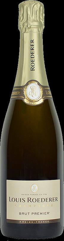 Personalised Louis Roederer Brut Premier Champagne 75cl engraved bottle