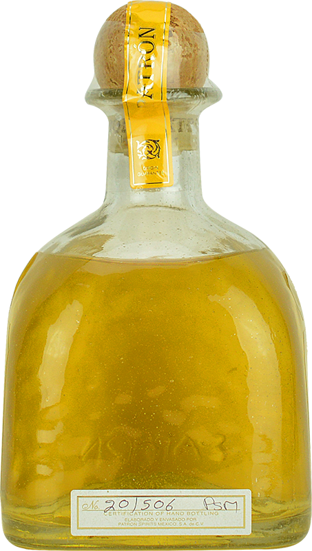 Personalised Patron Anejo Tequila 70cl engraved bottle