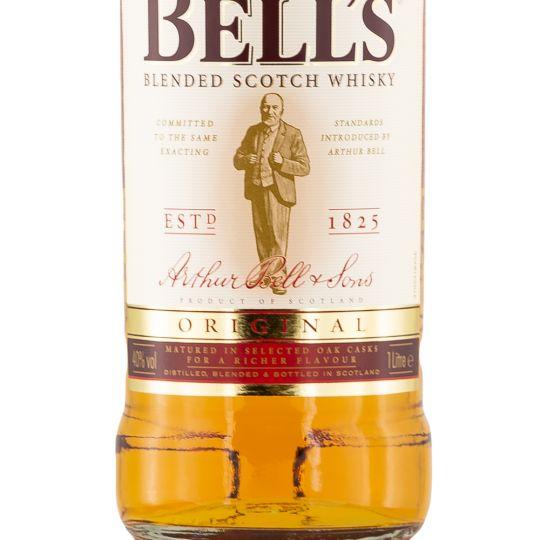 Personalised Bells Original Blended Whisky 100cl engraved bottle
