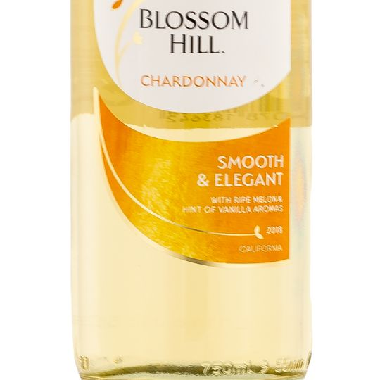 Personalised Blossom Hill Chardonnay White Wine 75cl engraved bottle