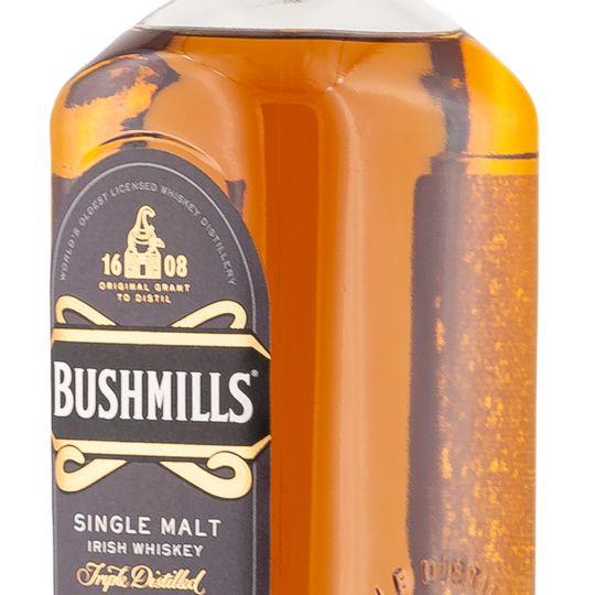 Personalised Bushmills 21 Year Old 70cl Engraved Single Malt Whisky engraved bottle