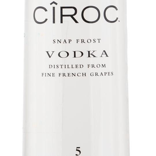 Personalised Ciroc Vodka 70cl engraved bottle