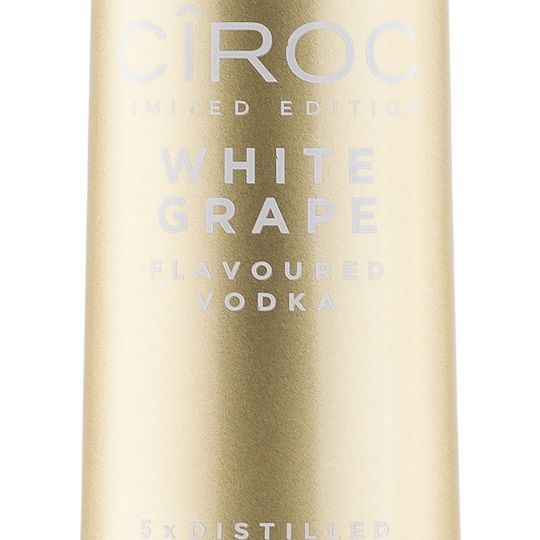Personalised White Grape 70cl Engraved Flavoured Vodka engraved bottle