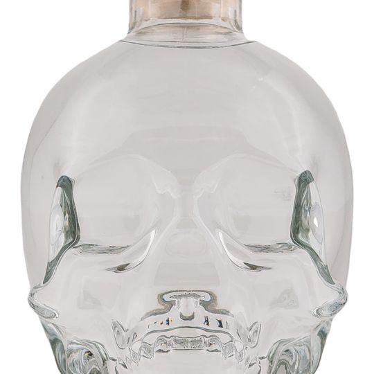 Personalised Crystal Head Vodka 70cl engraved bottle