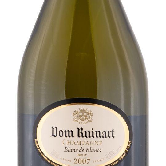 Personalised Dom Ruinart Blanc de Blancs 75cl Engraved Vintage Champagne engraved bottle