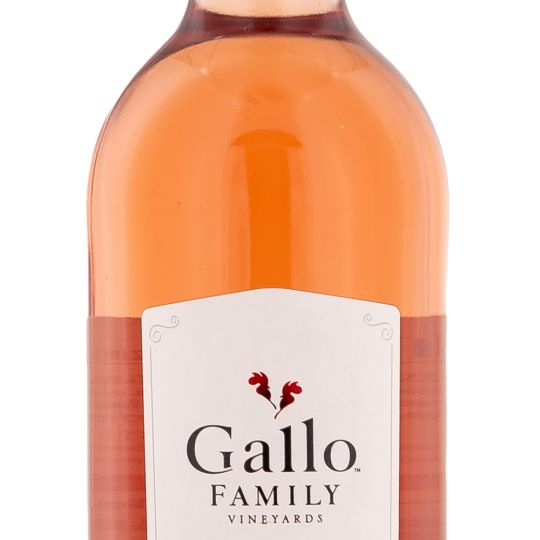 Personalised Gallo White Zinfandel Wine 75cl engraved bottle