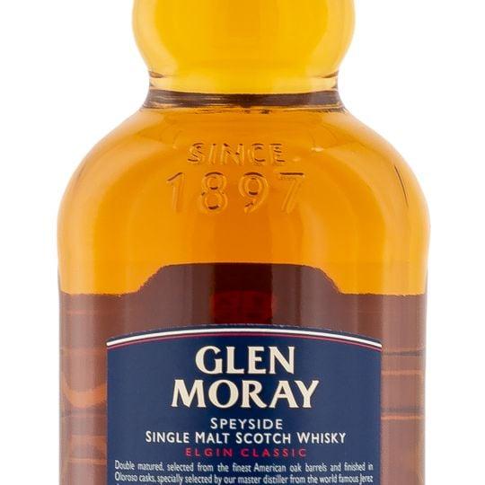 Personalised Glen Moray Sherry Cask Finish 70cl engraved bottle
