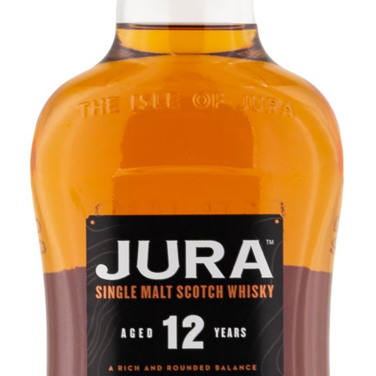 Personalised Isle of Jura 12 Year Old 70cl Engraved Single Malt Whisky engraved bottle
