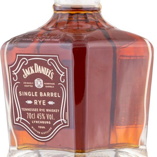 Personalised Jack Daniels Single Barrel Rye 70cl Engraved Rye Whiskey engraved bottle