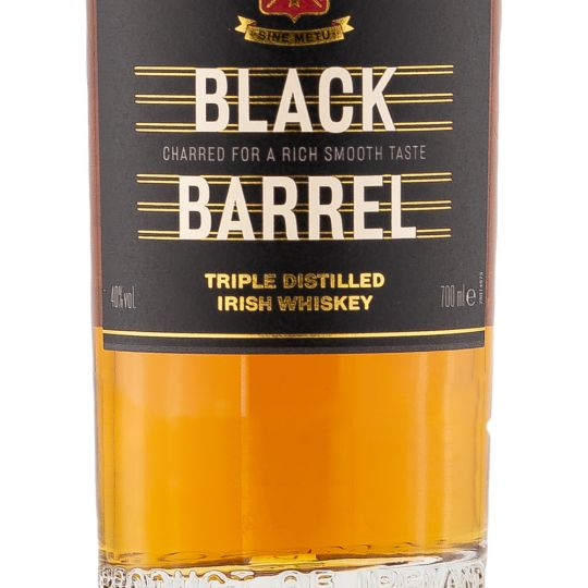 Personalised Jameson Black Barrel Whiskey 70cl engraved bottle