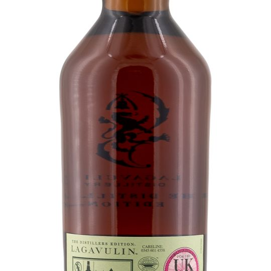Personalised Lagavulin Distillers Edition Whisky 70cl engraved bottle