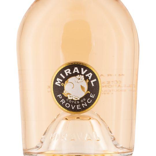 Personalised Miraval Cotes de Provence Rose Wine 75cl engraved bottle
