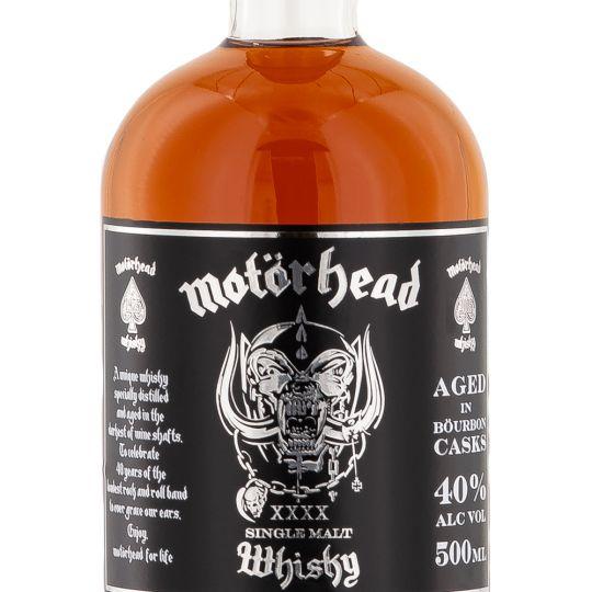 Personalised Motorhead Whiskey 70cl Engraved Single Malt Whiskey engraved bottle
