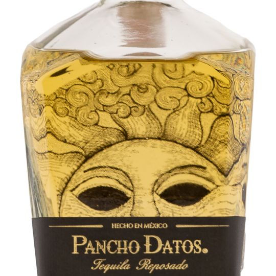 Personalised Pancho Datos Plata 70cl Engraved Blanco Tequila engraved bottle