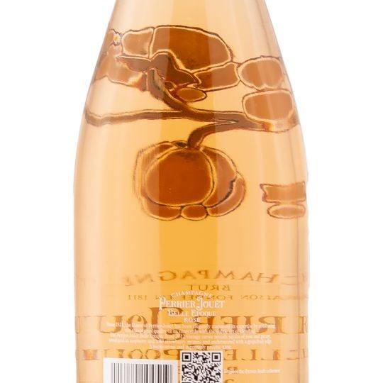 Personalised Perrier-Jouët Belle Epoque Rosé 75cl Engraved Vintage Champagne engraved bottle