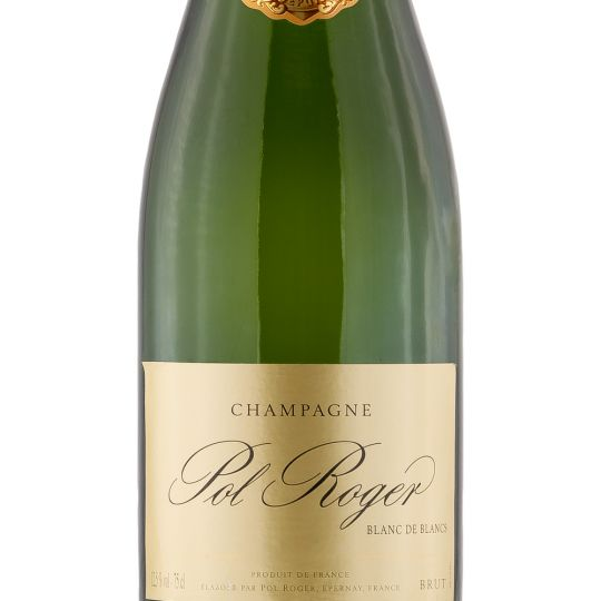 Personalised Pol Roger Blanc De Blancs 75cl Engraved Vintage Champagne engraved bottle