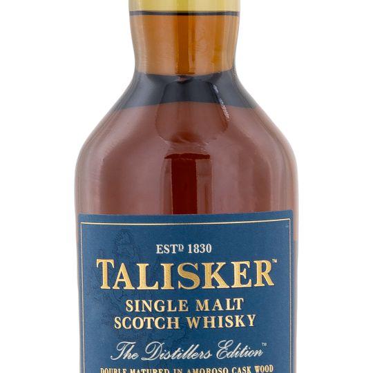Personalised Talisker Distillers Edition Whisky 70cl engraved bottle
