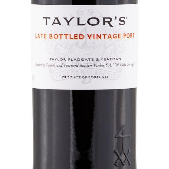 Personalised Taylor's Late Bottled Vintage Port 75cl engraved bottle