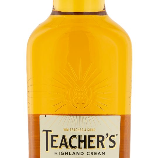 Personalised Teachers Whisky 70cl engraved bottle
