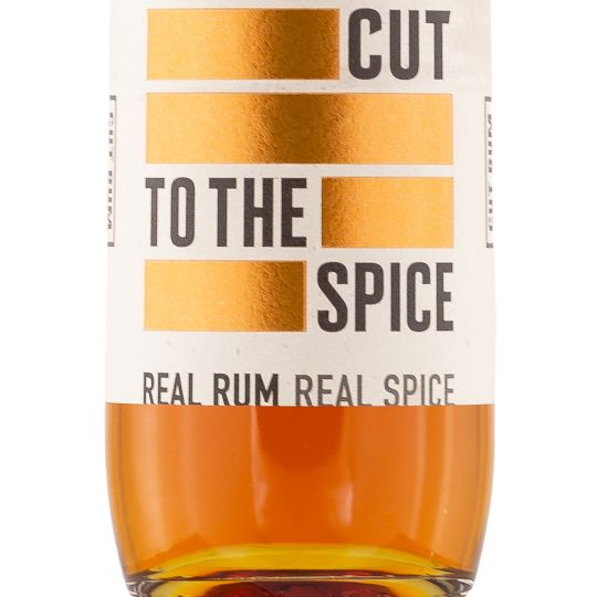 Personalised Cut Spiced Rum 70cl Engraved Spiced Rum engraved bottle