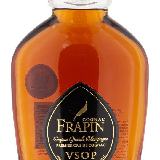 Personalised Frapin VSOP Grande Champagne Cognac 70cl Engraved VSOP Cognac engraved bottle