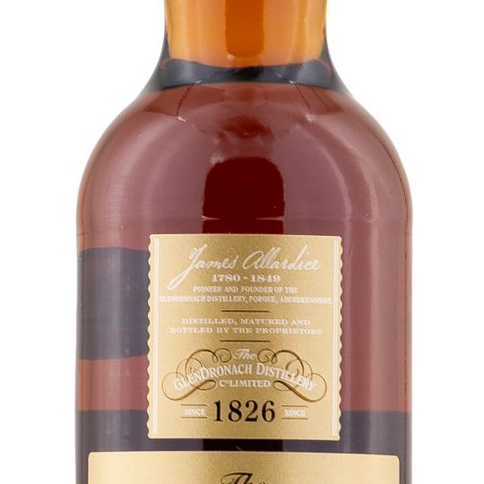 Personalised Glendronach 21 Year Old Parliament Sherry Cask 70cl Engraved Single Malt Whisky engraved bottle
