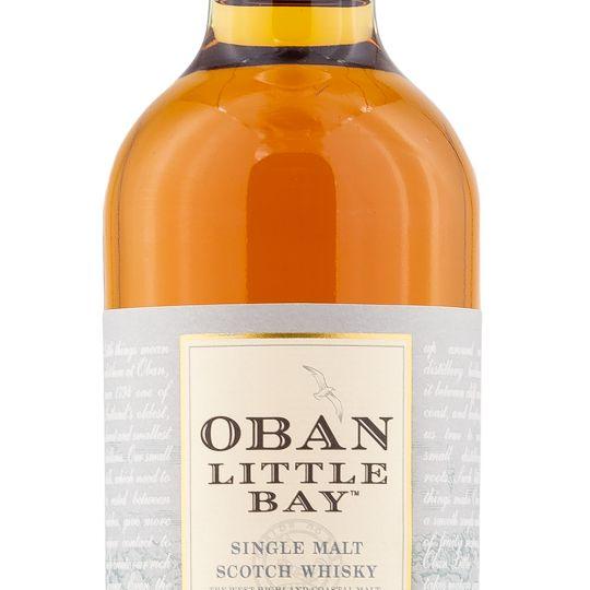 Personalised Oban Little Bay 70cl Engraved Single Malt Whisky engraved bottle