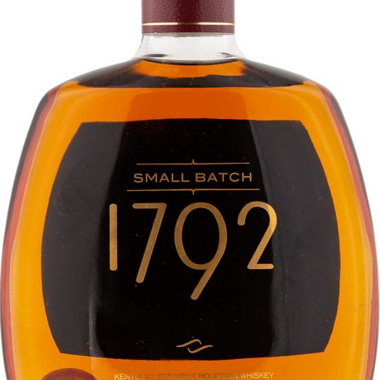 Personalised 1792 Small Batch 75cl Engraved Bourbon engraved bottle
