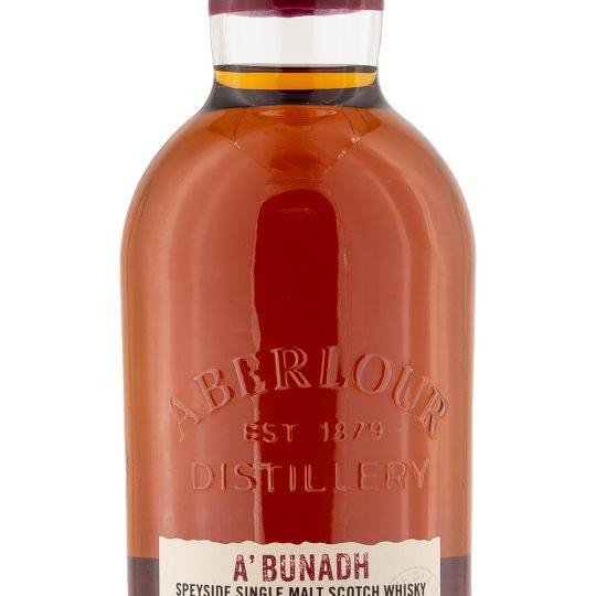 Personalised Aberlour A'bunadh Whisky 70cl engraved bottle