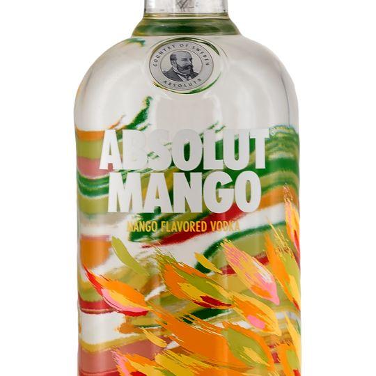Personalised Absolut Mango Vodka 70cl engraved bottle