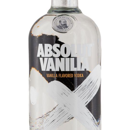 Personalised Absolut Vanilla Vodka 70cl engraved bottle