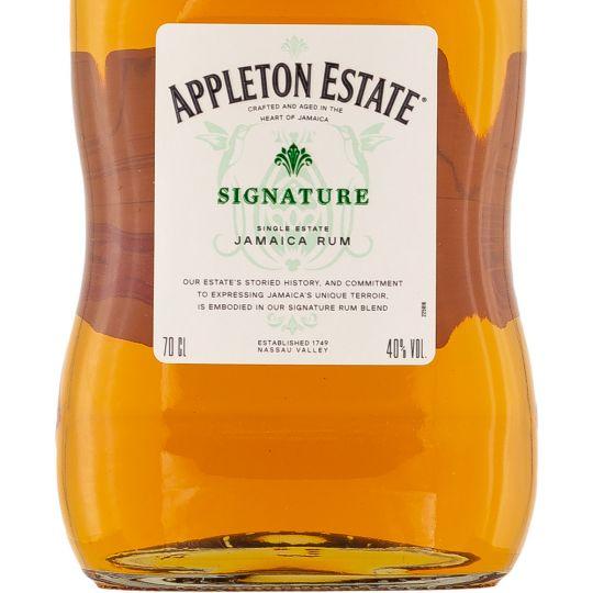 Personalised Appleton Estate Signature Blend Rum 70cl engraved bottle
