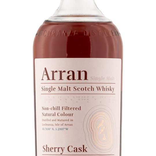 Personalised Arran Bodega Sherry CaskScotch Whisky 70cl Engraved Bottle engraved bottle