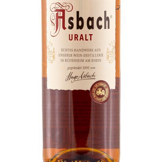 Personalised Asbach Uralt Brandy 70cl engraved bottle