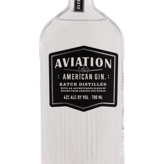 Personalised Aviation Gin 70cl engraved bottle