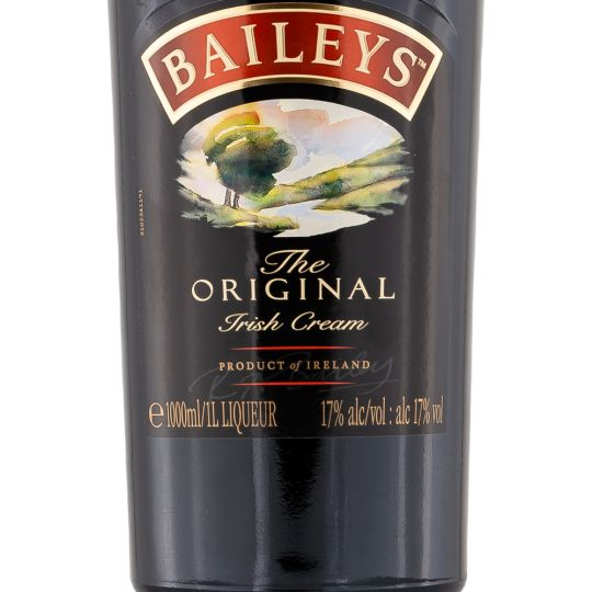 Personalised Baileys Irish Cream Liqueur 1 Litre engraved bottle