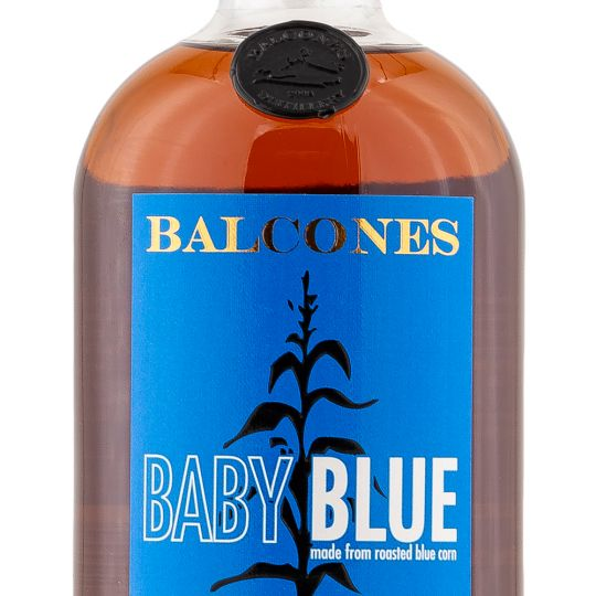 Personalised Balcones blue corn 70cl Engraved Whiskey Liqueurs engraved bottle