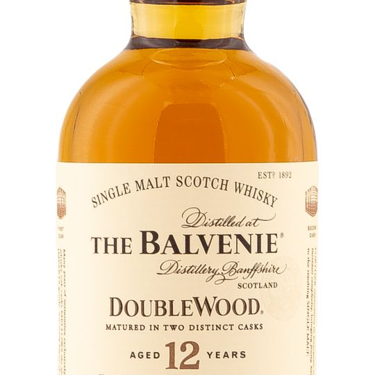 Personalised Balvenie Double Wood 12 Year Old Small Bottle 20cl Engraved Whisky Liqueurs engraved bottle