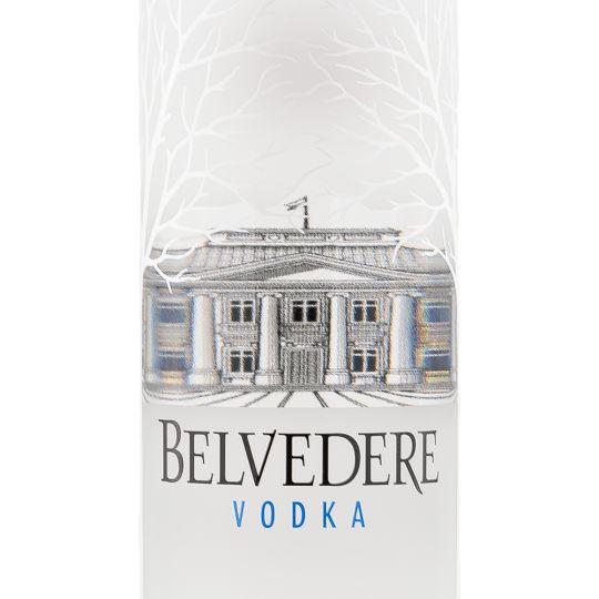 Personalised Belvedere Vodka 70cl engraved bottle