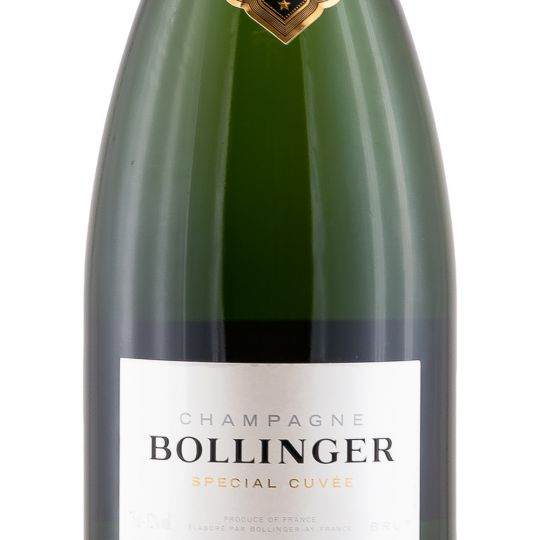 Personalised Bollinger Special Cuvee Champagne 75cl engraved bottle