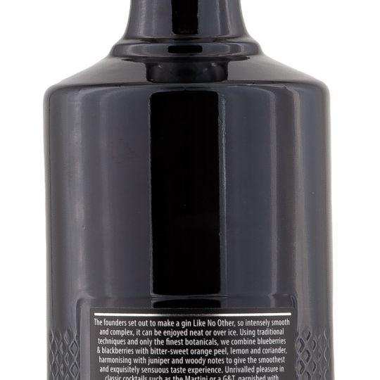 Personalised Brockmans Gin 70cl engraved bottle